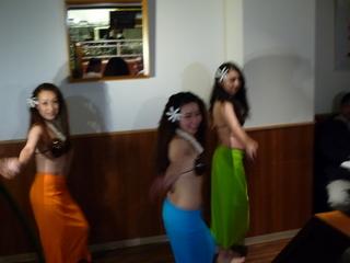 ハワイアンナイト開催 タヒチアンダンスステージあり