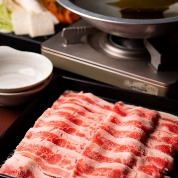 しゃぶしゃぶ食べ放題 【牛肉&豚肉】予約で個室ご用意します。