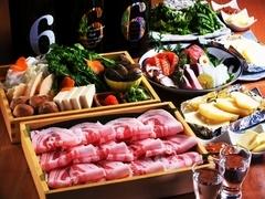 少人数から大人数まで楽しめる⇒石狩川の自慢のコース料理をご用意しております!(飲み放題2.5h制)