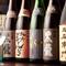 黒龍と全国の日本酒を毎月いろいろ取り揃えております。