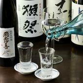 歓送迎会の下見に1日3組限定の『限定コース』は天然魚の刺身も入れて豪華に歓送迎会
