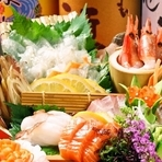 【天王】×高品質。九州各地郷土料理と新鮮な鮮魚、絶品鍋が自慢