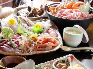 旬の野菜と採れたて鮮魚を仕入れ、料理にあう焼酎、地酒をご用意