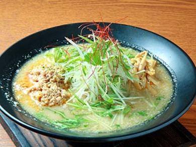鶏ごぼうみそ麺