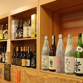 旬の肴と静岡の地酒で