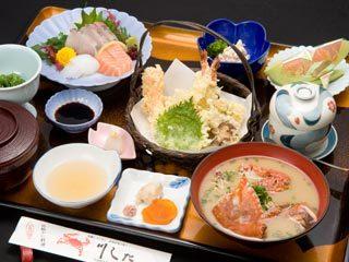 Takesakikaniryoriwafuresutorankawashita