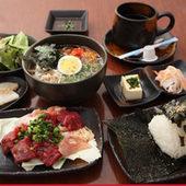 冷麺定食(別府名物)