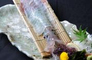 呼子より毎日入荷!身は透明でぷりぷり!刺身の後料理で下足は天婦羅、塩焼き、網焼き選べます!