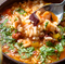 タコとトマトのスープご飯
