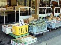 地元の野菜が集まる直売所 お土産にいかがですか?