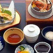 釜飯と天ぷら定食