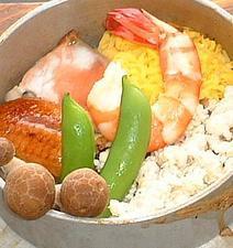 五目釜飯定食(単品900円)