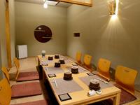 ご家族のお祝いごとや記念日、接待にぴったりな落ち着ける個室
