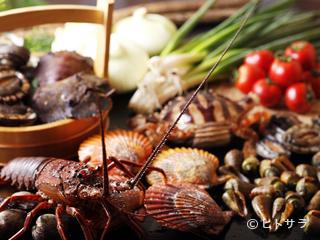 活貝・海老料理 満潮の料理・店内の画像1