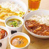 個性豊かなスープがずらり。素材の旨みたっぷりのカレーも人気!