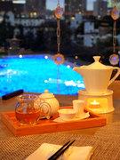 中国茶の持つ魅力を最大限に引き出すたて方にもこだわっています