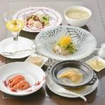 ふかひれの姿煮を楽しむランチコース