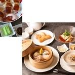 広東料理の点心と中華の人気メニュー北京ダックを楽しめる期間限定のコース(3月14日まで)
