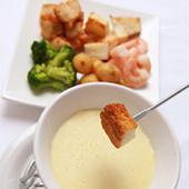 manhattan deliの冬期限定menuのチーズフォンデュが今年も登場