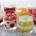 季節の果実を活かした芸術的なスイーツを視覚と味覚で味わう。