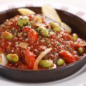 ハンバーグステーキ完熟トマトソース