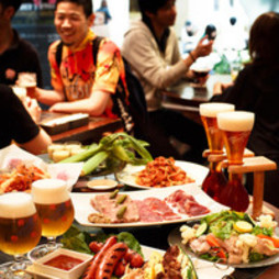 デリリウムカフェならではのベルギービールの多岐に渡る味わいを楽しめるプランです。