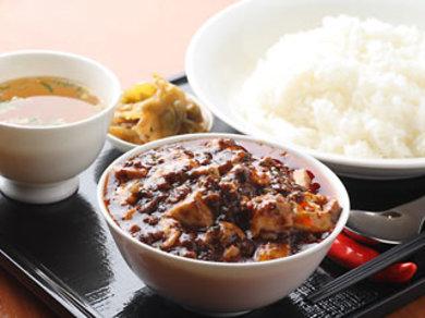 麻婆豆腐は 3種類の辛さと味の違いがございます。