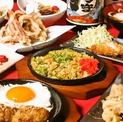 ニパチの宴会プランは大満足の食べ放題&飲み放題! ゆったり2時間。