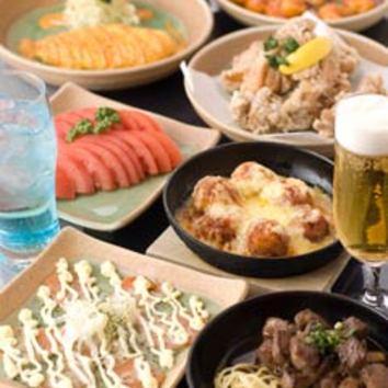 オススメ! 飲み・食べ放題コース 2850円(税込)