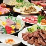 牛たんを使った豊富なメニューはもちろん、お刺身などの魚料理、そしてお酒の種類も充実しています。宴会などのご利用にもバリエーション豊かなメニューで対応しています。