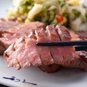 仙台の名物「牛たん」。一際、活気をみせる牛たん炭焼【利久】