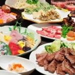 牛たんを使った豊富なメニューはもちろん、お刺身などの魚料理、そしてお酒の種類も充実しています。宴会や仲間うちの飲み会などのご利用にもバリエーション豊かなメニューで対応しています。