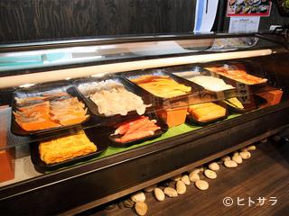 お寿司好きにはうれしい、豊富なメニュー