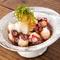 蟹といくらと炙りサーモンの贅沢カルパッチョ