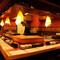 昭和レトロ感漂う「屋台」をイメージした店内で楽しいひと時を