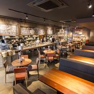 ご家族・友人・恋人・会社の仲間、すべての人が美味しく楽しくお食事ができる空間をご用意しています。
