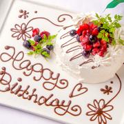 記念日にはサプライズケーキ☆