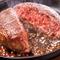肉食女子なら必食。『国産黒毛和牛100%ハンバーグ』