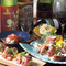 素材を活かした板前和食。日本酒、和食に合うワインなども充実