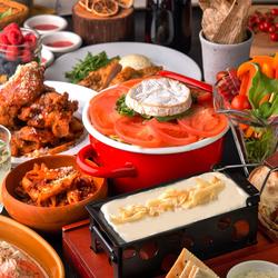 【3時間飲み放題付+全7品】選べるメインは「トマトチーズ麹もつ鍋orカマンベールチーズ鍋」がおすすめ♪