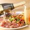 イタリアンをベースにした料理を引き立ててくれるワインも充実