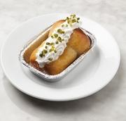 ブリオッシュにラム酒を使ったシロップをたっぷりしみ込ませたイタリア ナポリの伝統菓子です。 (クリーム添えはプラス50円) ※商品変更によりピスタチオのトッピングは終了いたしました。