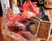 和歌山県箕島漁港を主に様々な新鮮で旬な魚を取り揃えております。銀平だから味わえる魚・味をお楽しみ下さいませ。