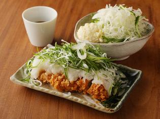 京野菜が楽しめる『たっぷり九条ねぎとおろしロースカツ膳』