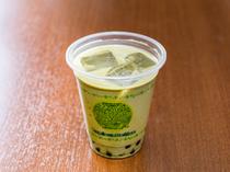 ミルクティーのコクと抹茶の香りのコラボ『京抹茶 手作りミルクティー』