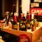 種類豊富なタパスを片手に、お好みのワインを満喫して