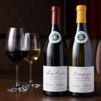 極上の素材を使ったイタリアンには、ワインが相性抜群。伊勢志摩サミットで各国首脳に供された本格日本ワイン『サントネージュ エクセラント かみのやま スパークリング2013』も味わうことができます。