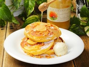 ハワイアンパンケーキに使用する繊維質たっぷりの全粒粉