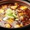 本場の食材を使ったヘルシーな『土鍋の麻婆豆腐』