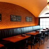 宴会の王道と言われるビールとグリル料理のある場所
